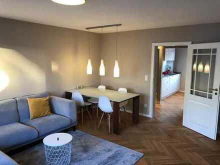 Erstbezug nach Sanierung: exklusive 3-Zimmer-Wohnung mit Balkon in Bad Homburg