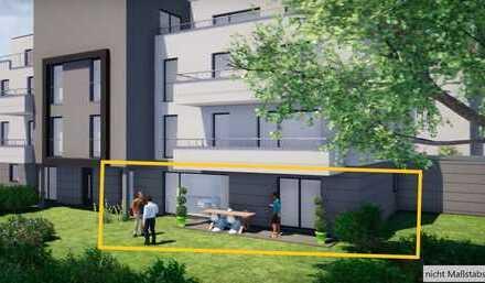Erstbezug mit Terrasse: wunderschöne 2-Zimmer-EG-Wohnung in Birkenau