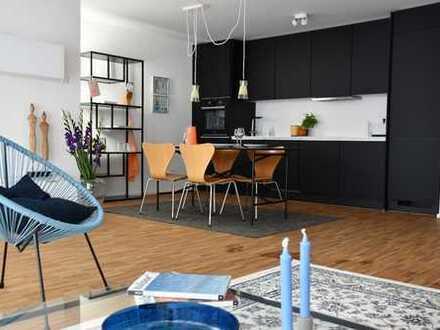 Möblierte, neue 2,5 Zimmerwohnung in S-Bahn-Nähe