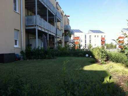 IHRE GRÜNE OASE - Kuschelige 3-Zimmer-Wohnung mit Mietergarten