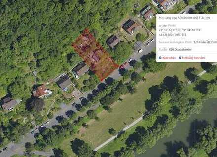 """Top-grünes Grundstück in Deutschlands """"Grünster"""" Uni-Stadt TÜBINGEN"""