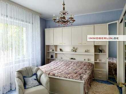 IMMOBERLIN.DE - Sonnig & adrett! Wohnung mit Südwestbalkon in baumreicher Lage