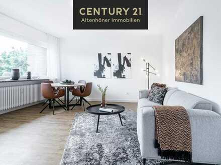 Renovierte 3-Zimmer-ETW mit 2 Balkonen! Bezugsfrei