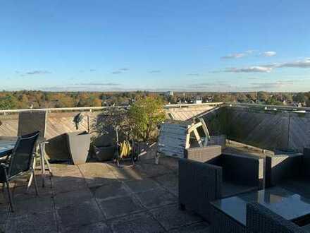 Quickborn-Penthouse mit 3 Zi und nicht einsehbarer Dachterrasse inkl. TG-Stellplatz