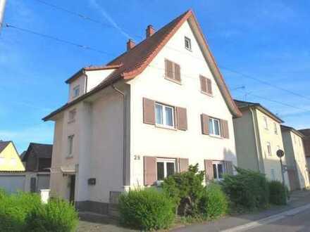 Solides, großzügiges Wohnhaus mit 3 Wohneinheiten in zentraler Lage von Weinheim-Bergstraße