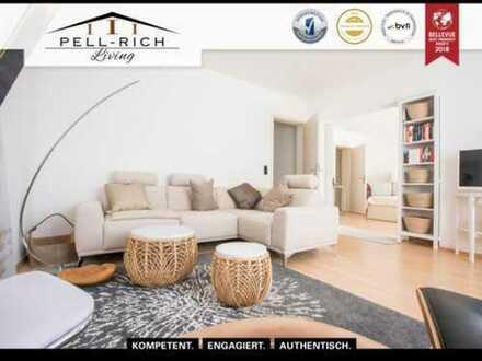 AUSSICHT: Renovierte & vollmöblierte 3-Zimmer Wohnung mit atemberaubendem Blick zu vermieten!