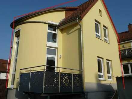 Schönes und ruhiges Hinterhaus mit drei Zimmern in Leimen Mitte