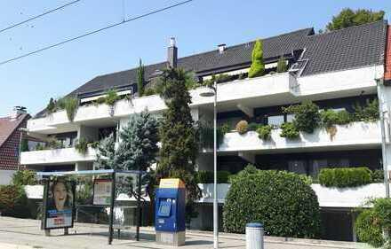 MA-Neuostheim: Großzügige ETW 4 Zi. - 125m² Garten - 2 Balkone - Indoor Pool - Tiefgarage - Aufzug