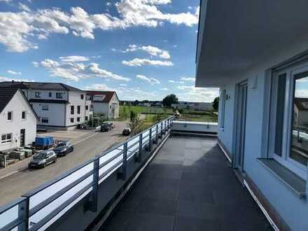 Neubau 4-Zimmer Wohnung mit großer Dachterrasse (Wohnberechtigungschein erforderlich)