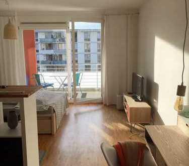 Hochwertig möbliertes und vollausgestattetes Apartment in München Riem