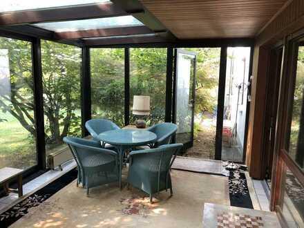 Hochwertige möblierte 4-Zimmer-EG-Wohnung mit Wintergarten und EBK in Bruchköbel