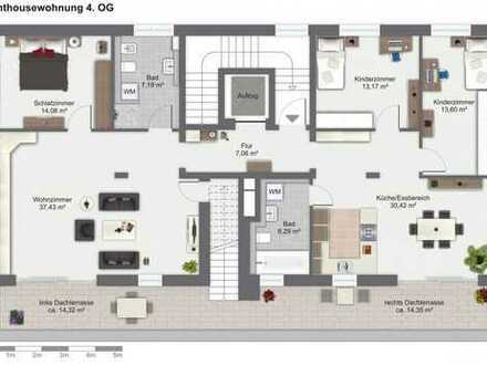 Rarität : Roofgarden Penthouse-Traum im Langener Norden
