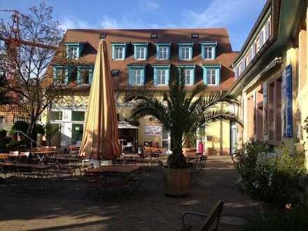 Bachmühle: Restaurant Denkmalgebäude in Fußgängerzone