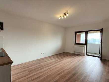 ! Frei ab sofort ! Süd-Balkon & EBK: helle 1-Zimmer-Wohnung in Germersheim