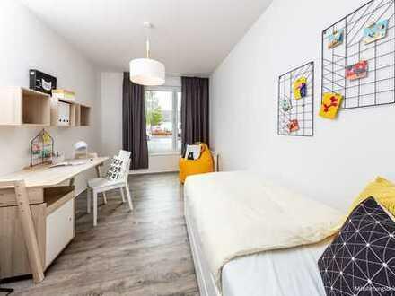 Erstbezug! Schöne 4-Raum-Wohnung mit offener Wohnküche!