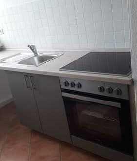 Gemütliche 2-Raumwohnung mit Einbauküche!
