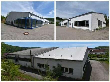 Produktions-/Lager- und Bürogebäude in Rohr mit vermieteter Produktionshalle