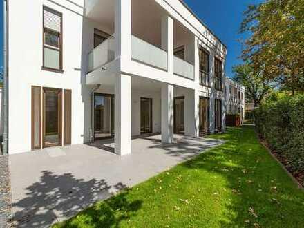 Stadtwaldterrassen Krefeld * Traumhafte Gartenwohnung mit Luxusausstattung *