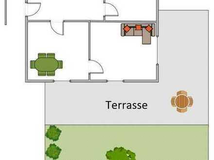 Vollständig renovierte Wohnung mit zwei Zimmern und EBK in Dorfen - WG möglich
