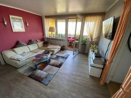 Helle 2,5-Zimmer-mit großer Süd-Loggia/Balkon, Fernblick, Fernwärme, ruhig, Stufenlos erreichbar