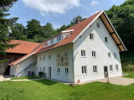 Erstbezug nach Sanierung: schöne 4-Zimmer-Wohnung zur Miete in Kaufbeuren