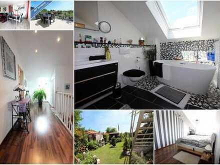 Tolle Gelegenheit! Stilvolles Einfamilienhaus mit wunderschönem Garten in guter Lage