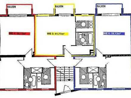Drei Wohnungen +++ 160m² +++ € 2.655/m²
