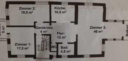 1 Zimmer, 350 € Warmmiete in 3er WG mit großem Gemeinschaftsbereich, Küche, Bad, WC auf Hambacher Hö
