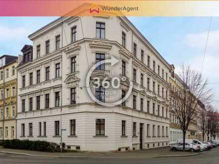 Vollsanierte Gründerzeitperle im beliebten Leipziger Stadtteil Gohlis