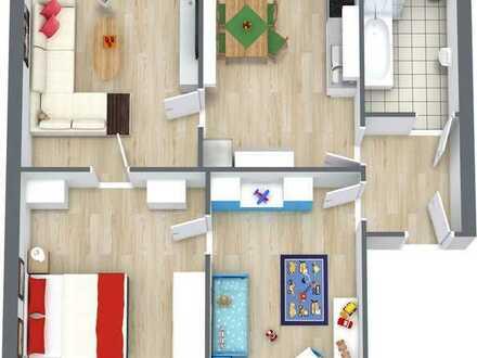 Wohnung mit Potenzial und Blick ist Grüne sucht neuen Bewohner!