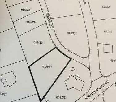 Voll erschlossenes Baugrundstück in 95683 Ebnath