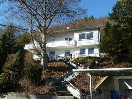 Schönes Zweifamilienhaus mit toller Panorama-Aussicht