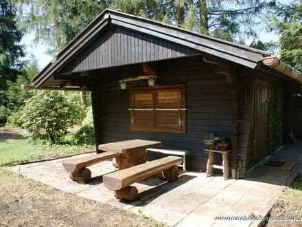 Verkauft! Großes Freizeitgrundstück mit Blockhaus im Außenbereich von Peiting zu verkaufen !