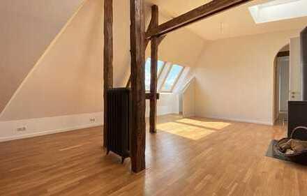 Extravagant ausgebautes Dachgeschoss mit exklusiver Dachterrasse !