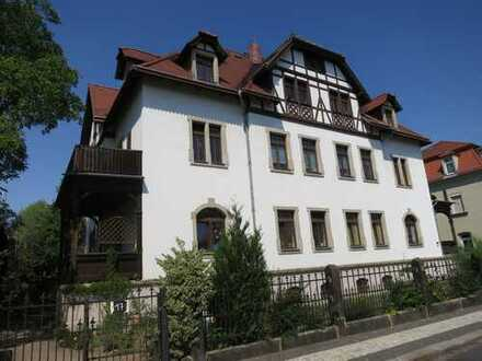 Sonn. 3-RW m. großem Balkon u. Gartennutzung in schöner Stadtvilla v. DD-Niedersedlitz