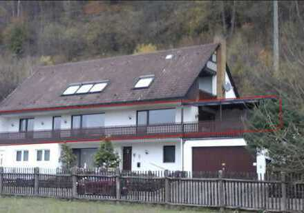 Helle 5-Zimmer-Wohnung 144 qm u. 71qm überdachtem Balkon m. Kamin,freier Ausblick ins Pegnitztal