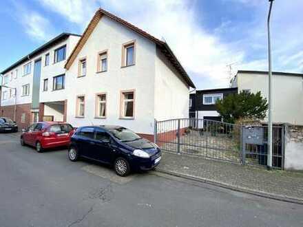 Sofort beziehbares Einfamilien-Haus & 2 Familien-Haus (Vermietet) mit Garage in F-Schwanheim