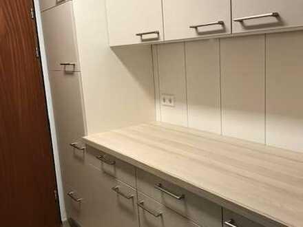 Exklusive, sanierte 1-Zimmer-Wohnung mit Balkon und neuer Einbauküche in Bad Wildbad