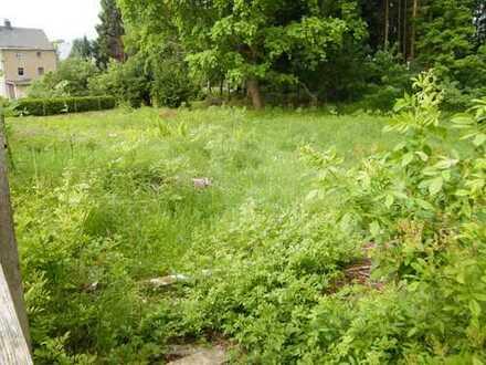 Hier könnte Ihr neues Haus entstehen. Großes Grundstück in Mildenau