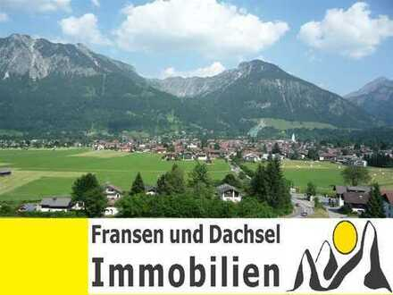 Seltene Gelegenheit 2,5 Zimmer-Wohnung in Oberstdorf