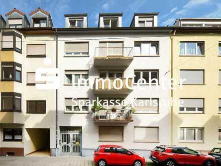 Solide Dachgeschosswohnung in guter Lage der Karlsruher Weststadt