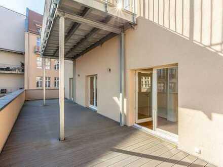 Ab Oktober Besichtigungen: Terrasse zum Hof | 2 Bäder | Parkett & Bodenheizung | Stellplatz mgl