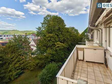 3-Zimmer Wohnung mit Blick auf den Rotenberg