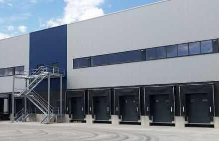 """BAUMÜLLER & CO."" - ca. 50.000 m² NEUBAU-Logistikfläche - Rampen-/ebenerdige Andienung"