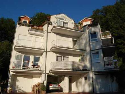 Gepflegte 3-ZKB-Wohnung mit SW-Balkon in ruhiger Hanglage in Heidelberg-Ziegelhausen