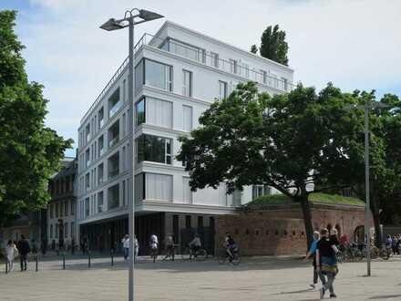 Traumwohnung - Exklusive 3-Zimmer-Wohnung mit zwei Wintergärten und Rheinblick am Winterhafen