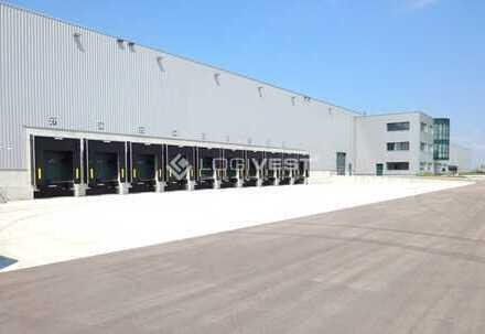Neubau einer Logistik-und Lagerhalle in Wiesbaden