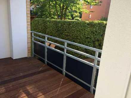 Erstbezug! 2-Zi.-Erdgeschosswohnung mit Balkon in Bönen; Bahnhofstraße
