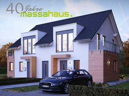 Bauen Sie Ihr 2-Familienhaus/Doppelhaus mit massa haus
