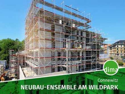 NEUBAU MIT EIGENEN PARK | Rohbau fertig | Aufzug Balkon TG